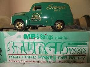 Harley Davidson Sturgis 1948 Ford Panel Delivery Bank