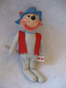 MUSHMOUSE plush vinyl face figure Mush Mouse Hanna Barbera