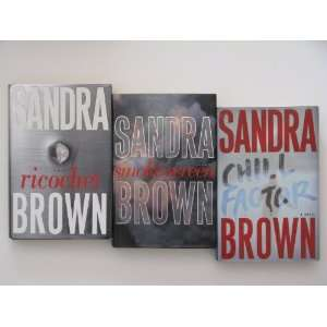 Sandra Brown 3 Book Set (Romance Suspense/Thrillers