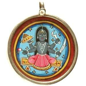 Goddess Bhavani   Sterling Silver: Everything Else
