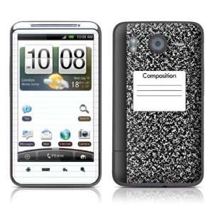 com Composition Notebook Design Protective Skin Decal Sticker for HTC