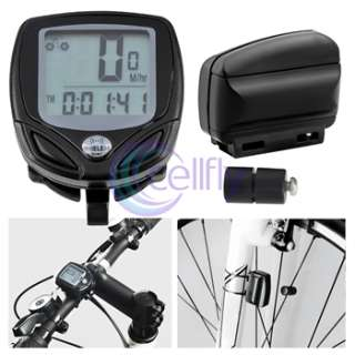 Wireless LCD Bicycle Bike Computer Odometer Speedometer