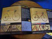 Vintage Motobecane 1984 Catalog NOS road bike bicycle Jubilee Prolight