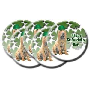 Bloodhound Pack of 5 St Patricks Day Pin Badges
