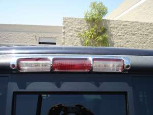 97 03 FORD F 150 CHROME 3RD BRAKE LIGHT COVER BY TFP