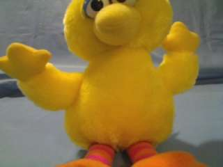 JIM HENSONS SESAME STREET 9 BIG BIRD PLUSH TOY