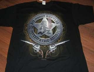 NWT  ICP BIG MONEY RUSTLAS SHERIFF BADGE T shirt 2XL