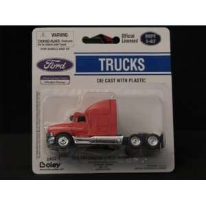 Boley HO Scale Ford Aeromax Truck Cab (Red) Toys & Games