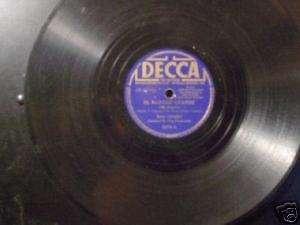 BING CROSBY El Rancho Grande 78 Decca