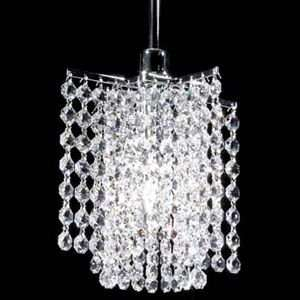 Tekno Mini Charlie Clear Crystal Pendant by James R Moder