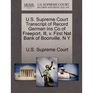 Nat Bank of Boonville, N Y (9781270043935): U.S. Supreme Court: Books