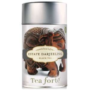 Tea Forte Loose Leaf Tea Canister Estate Darjeeling: