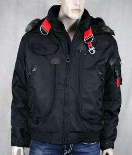 WELLENSTEYN USA mens Rescue winter Jacket coat black RES66
