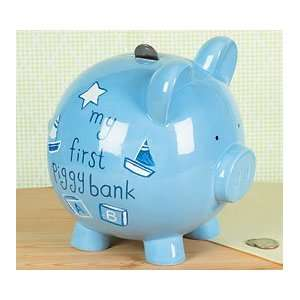 Baby Boys My First Piggy Bank Adorable Baby Boy Gift