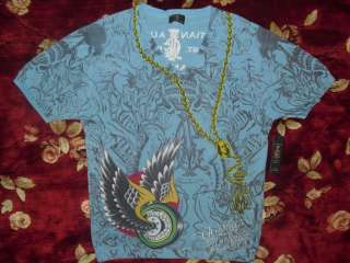 Audigier Mens Blue V neck Shirt Size XL Authentic Winged Wheel Sweater