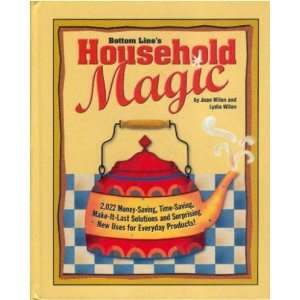 Household Magic (9780887234941): Joan; Wilen, Lydia Wilen: Books