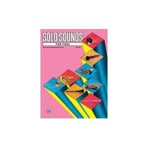 Alfred Publishing 00 EL03354 Solo Sounds for Tuba Volume I