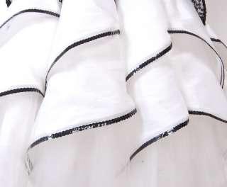 Betsey Johnson Evening Dahila Strapless Dress 4 Black