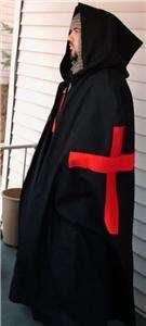 MEDIEVAL CRUSADER KNIGHT CAPE  Latin X   SCA   LARP