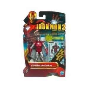 Iron Man 2 Comic Figures Series 03   Silver Centurion Iron Man Toys