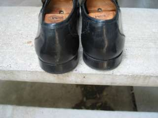 Bostonian Used Black Leather Dress Loafers 12