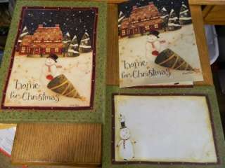 Primitive Home for Christmas Christmas Boxed Cards