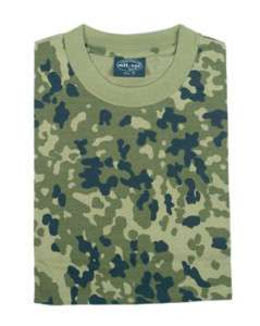 Danish Army Camouflage Military T Shirts Army Camo Tops