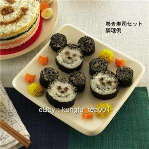 Disney Mickey Mouse Sushi Musubi Roll Maker Mold Mould