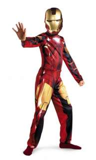 Marvel Super Heroe Iron Man 2 Boys Costume
