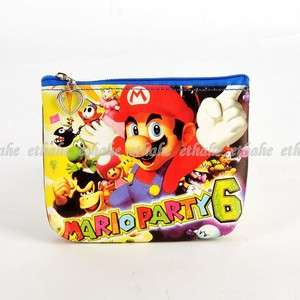 Super Mario Bros. Party Mini Wallet Coin Purse E1GNXR