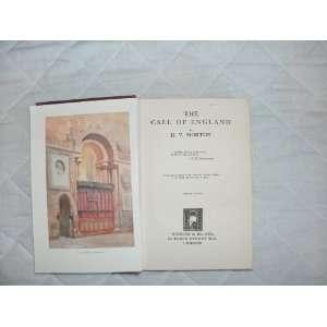 The Call of England H.V. Morton Books