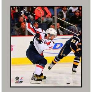 Alexander Ovechkin Washington Capitals 11 x 14 Photograph in a Matted