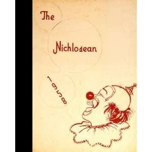 Summersville, West Virginia Nicholas County High School 1958 Yearbook
