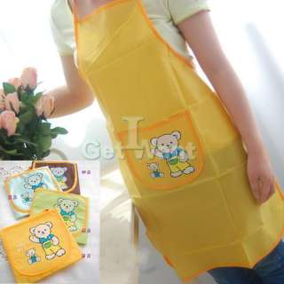 Home Kitchen Wookling Chef Clothes Apron Oil Water Protector