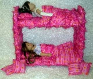 Doll Bed for American Girl Doll bedding INCLUDED