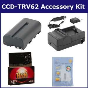 Sony CCD TRV62 Camcorder Accessory Kit includes HI8TAPE Tape