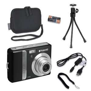 Polaroid I1036 Camera & Tripod & Case Bundle  Players