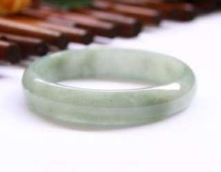 Natural A Grade Untreated Light Green Jadeite Jade Bangle $2500