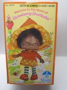 Vintage Strawberry Shortcake Orange Blossom MIB