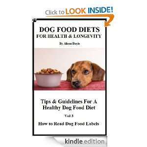 Longevity Tips & Guidelines For A Healthy Dog Food Diet Vol 3 Learn