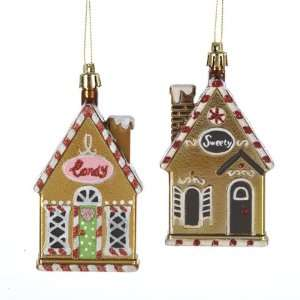 Kisses Candy House Christmas Ornaments 4.75 Home & Kitchen