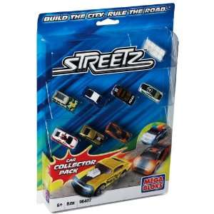 Mega Bloks Streetz Car Collector Pack Toys & Games