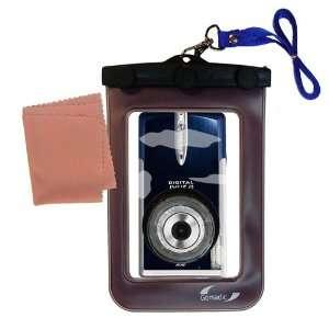 Gomadic Clean n Dry Waterproof Camera Case for the Canon Digital IXUS