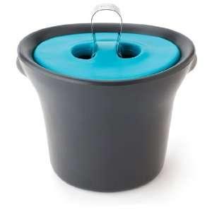 Built Oort 6 Quart Ice Bucket, Slate Blue Kitchen