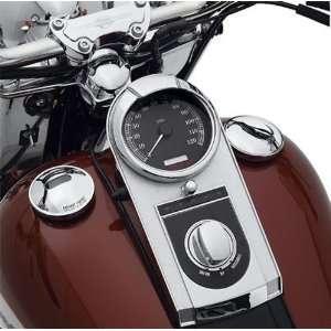 Harley Davidson Chrome Gauge Visor Ring 4 5/8 74661 04