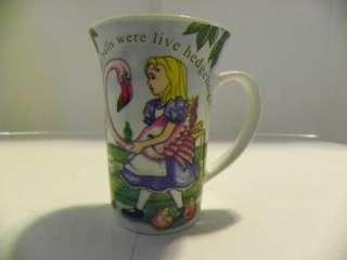 Paul Cardew Alice in Wonderland Tall Latte Cup Mug Coff