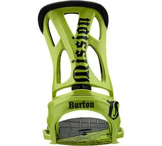 New Burton Mission EST CantBed L Snowboard Bindings 11