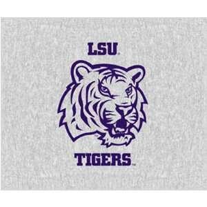 Louisiana State University Tigers 58x48 inch Property of NCAA Blanket