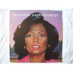 DIANA ROSS 20 Golden Greats UK LP 1979: Diana Ross: Music