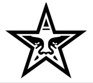 Star Face Decal 26 Huge Wall Art Sticker Vinyl Car Truck SUV